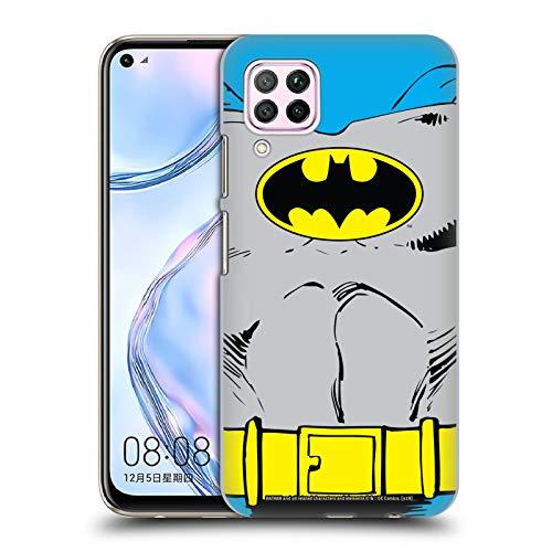 Head Case Designs Oficial Batman DC Comics Disfraz clsico Logotipos Carcasa rgida Compatible con Huawei Nova 6 SE / P40 Lite