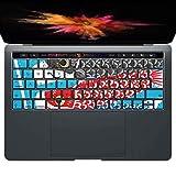 igsticker MacBook PRO 15inch 2016 ~ 専用 キーボード用スキンシール キートップ ステッカー A1990 A1707 Apple マックブック エア ノートパソコン アクセサリー 保護 015798 鯉のぼり 空 端午の節句