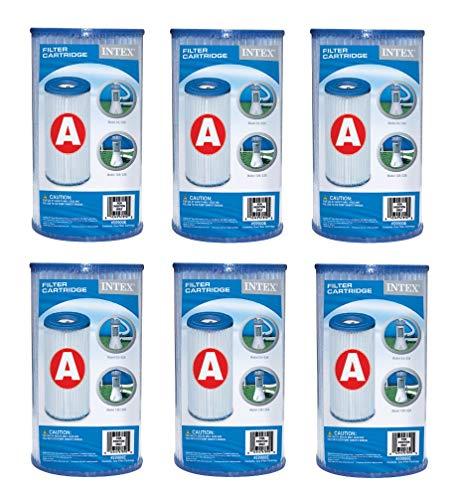 """Intex - 6 filtri a Cartuccia """"A"""""""