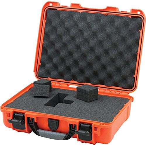 Nanuk 910 Waterproof Hard Case with Foam Insert - Orange