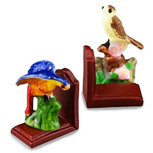 【ロイターポーセリン】【ミニチュア】 小鳥のブックエンド RP1607-5