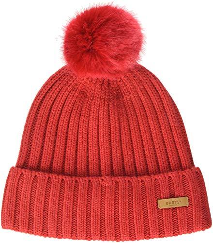 Barts Damen Linda Beanie Baskenmütze, Rot (0005-RED 005L), One Size (Herstellergröße: Uni)