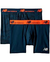 New Balance Mens Dry Fresh Boxer Brief 2-Pack (Small / 29-31 Inches, Integrity Camo/Supercell)