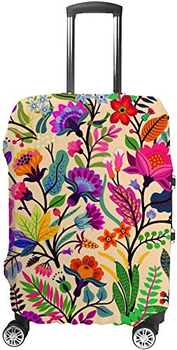 Travel Lage Cover Suitcase Protector Be Suitable 18-32 Inch Lage Woody Vine,XL
