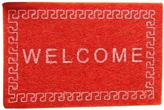 Mini Welcome Non-Woven Fabric Door Mat Carpet 1/12 Dollhouse Miniature Decor