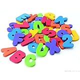 Vktech 36pcsセット ローマ字/数字 スティック 浮かび/水遊び/お風呂おもちゃ 子供キッズ赤ちゃん 知育玩具 (A-Z)(0-9)子供にギフト