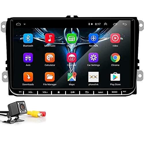 PolarLander 9 inch Android 8.1 Autoradio Navigazione GPS Stereo Lettore multimediale WiFi Bluetooth per V/W S/Koda Golf 5 Golf 6 Polo Passat B5 B6 Jetta TIGUAN