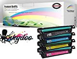InkyDoo Color LJ CP1025/ LJ Pro 100 Replacement Toner Set- 4 Colors, 1 Ea of Premium Quality Replacements for CE310A, CE311A, CE312A, CE312A