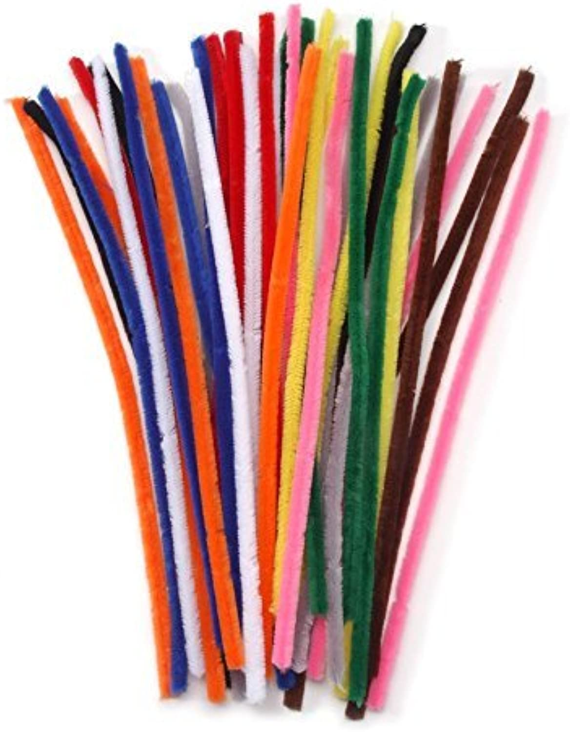 Chenille Stems  15mm  Assorted color  40 pieces by Darice