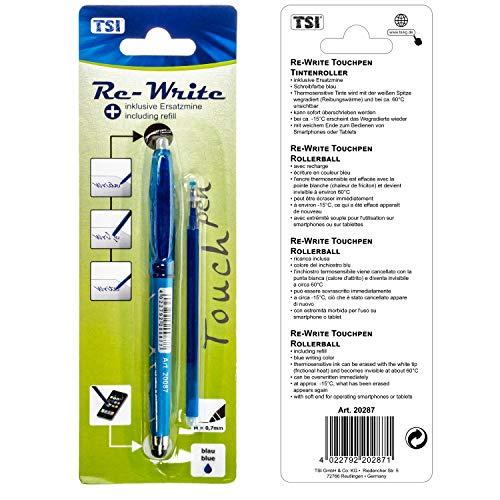 TSI 20287 Re-Write® rollerball met stylus inclusief vulling