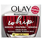 Olay Regenerist Whip Ligera Como El Aire Hidratante, Crema facial con niacinamida y péptidos, 50 ml