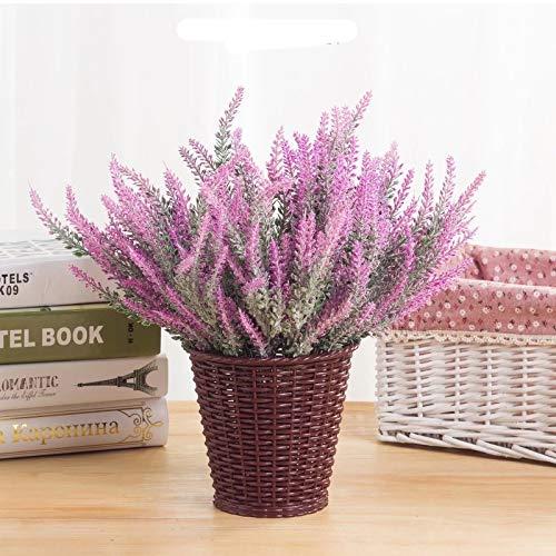 SWECOMZE 10 Stück Künstliche Lavendel...