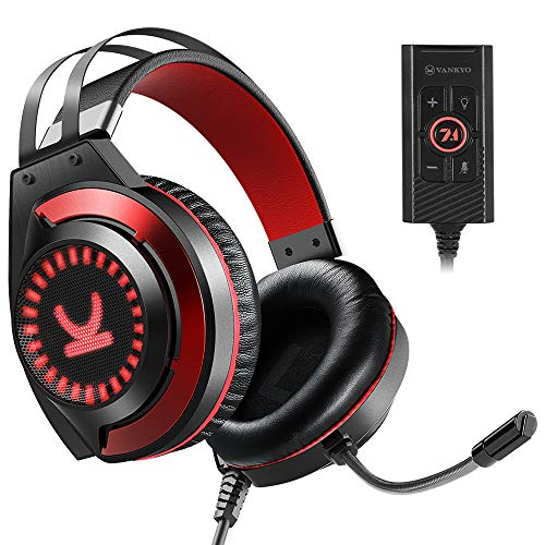 Our #7 Pick is the VANKYO CM7000 Gaming Headset