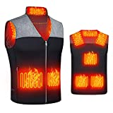 Upgraded Heated Vest for Women Men, Smart Electric Heating Vest Rechargeable, Warming heated Jacket, Battery Not Included (M)