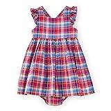 Ralph Lauren Vestido de algodón Madras para niñas y bebés - - 6 meses