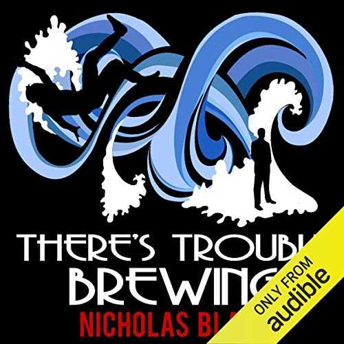 Couverture de There's Trouble Brewing: Nigel Strangeways, Book 3