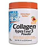 Doctor's Best Collagen Types 1 and 3 Powder Peach Flavored 8.1 oz