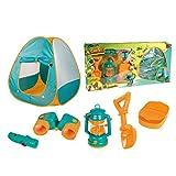 LLVV Outdoor Tragbares Zelt Kinder Montiert Camping Zelt Set Wild Beach Spielhaus Spiel...