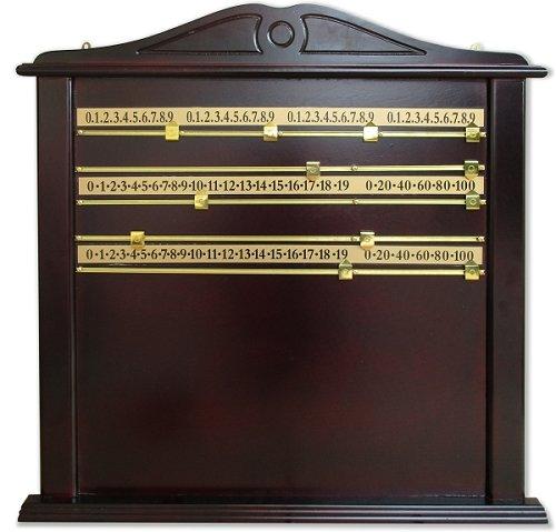 Unbekannt Anzeigetafel Snooker für 4 Spieler, Abmessung 70 x 60 cm