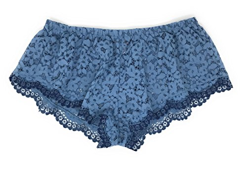 Victoria's Secret Body by Victoria Lace Sleep Short X-Small Azure Blue