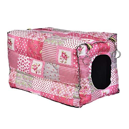 Animales Pequeños Cubos De Algodón Hamster Casa De Jaulas For Pequeños Animales Ardilla De Indias De La Casa De Los Conejos Suministros Baby (Color : B)