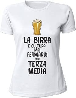 Altra Marca T-Shirt Donna Bicolore Personalizzata Maglietta Femminile Originale Sticazzi