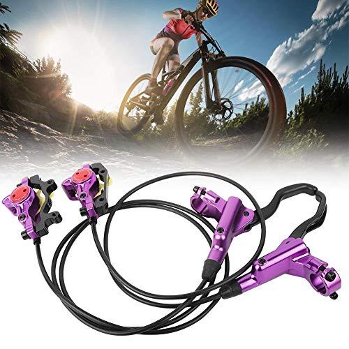 SolUptanisu Hydraulisch Fahrrad vorne/hinten Scheibenbremsen Set Mountainbike Hydraulische Scheibenbremsen Bremssattel - 6