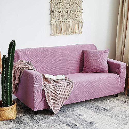 B/H 3 Plaza Funda de Sofá Elástico Cubierta,Funda de sofá Gruesa de Color sólido, Funda de sofá de Lana-N_140-185cm,Tejido Poliéster Cubre Sofa