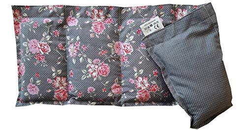 Körnerkissen Natur Kühlkissen Wärmekissen Wendekissen Dinkelkissen 100% Baumwolle Westfalenstoffe Rosenborg Unser Premium Kissen 50x20cm