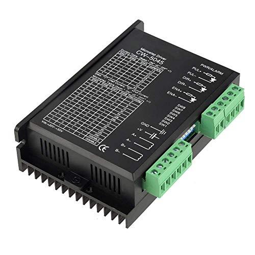 SUNTAOWAN Conductor del Motor de Pasos Microstep CW-5045 de 4.5A 24V-50VDC for CNC híbrido Motors