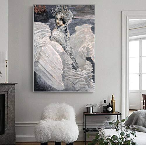 pcrcp Russische Gemälde an der Wand von Wand Kunst Leinwand Bild für Wohnzimmer Dekor-60cmx90cm