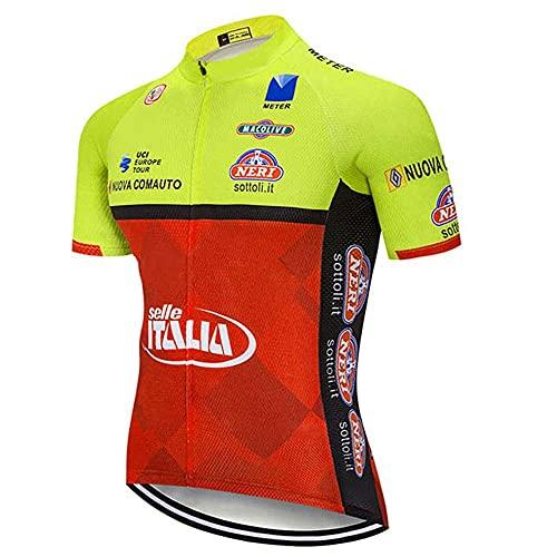 BROOE Miloto Ciclismo Camisas Equipo Bike Tops Ropa Hombres Biking Jerseys Bicicletas