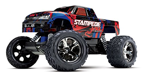 Traxxas Stampede VXL Brushless 1:10 RC Modellauto Elektro Monstertruck Heckantrieb (2WD) RTR 2,4 GHz