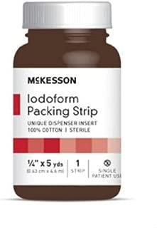McKesson Performance Plus Iodoform 5% Packing Strip 1/4