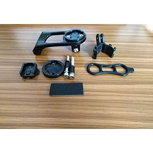 FUQUANDIAN Vástago de la bicicleta Monte Faro ordenador Titular de la abrazadera del manillar de la bici de Extensión soporte adaptador for Garmin Edge GPS for GoPro héroe acción de la cámara Accesori