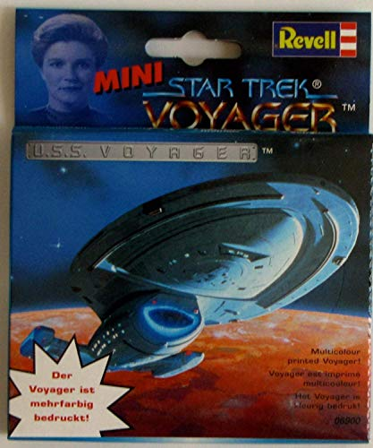 REVELL Star Trek Voyager MINI U.S.S. VOYAGER mehrfarbig bedruckt Plastikbausatz zum Stecken #06900