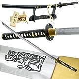 Handmade Kill Bill Bride's Samurai Katana Sword Leather Handle
