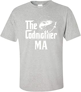 My Family Tee The Codmother MA Custom Name Fishing Mothers Day - Unisex T-Shirt