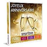 SMARTBOX - Coffret Cadeau d'anniversaire - Idée cadeau original pour homme ou femme : Repas ou dégustations, soins relaxants, aventure