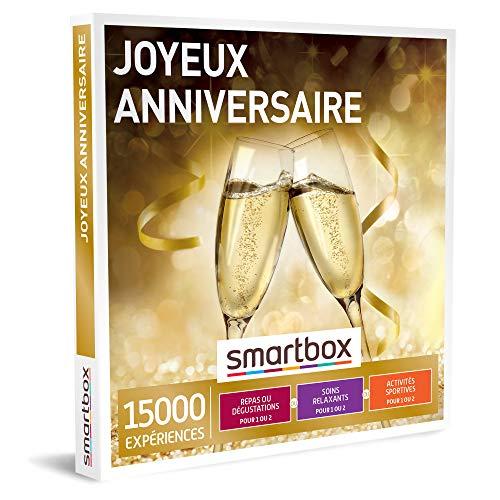 SMARTBOX - Coffret Cadeau d'anniversaire - Idée cadeau...