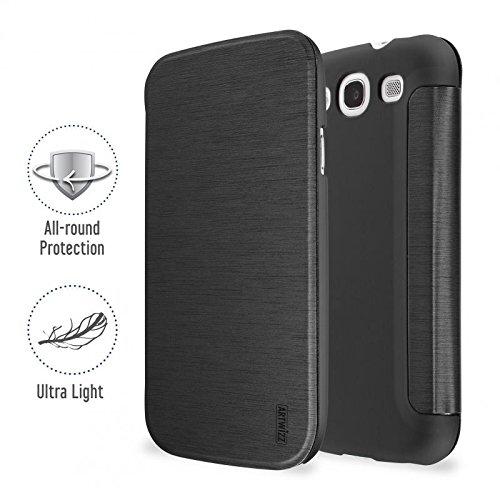 Artwizz SmartJacket Funda para teléfono móvil Folio Negro - Fundas para teléfonos móviles (Folio, Samsung, Galaxy S III (Neo), Negro)