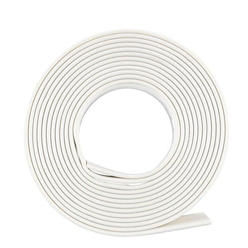 Sourcingmap Schrumpfschlauch 2: 1Elektrische Isolierung Tube Draht Kabel Tubing sleeven Wrap Weiß 13mm Durchmesser 1m Länge