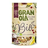 La Newyorkina - Granola Bio - Coco y Lemon Friends - Bolsa de 275 gr - Alto Contenido en Fibra - Granola Ecológica y Vegana - Granola con Aceite de Oliva Virgen Extra - Proceso 100% Artesano