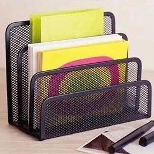 Nuevos estantes para archivos, estantes para archivos, organizador de escritorio para archivos de cartas, organizador de escritorio, soporte para bolígrafos de metal, soporte para libros, organizador