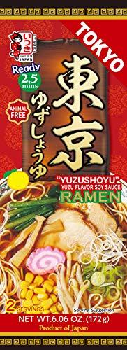 Itsuki Tokyo 'Yuzushoyu' Yuzu Flavour Soy Sauce Ramen (Animal Free) 2 Servings 172g