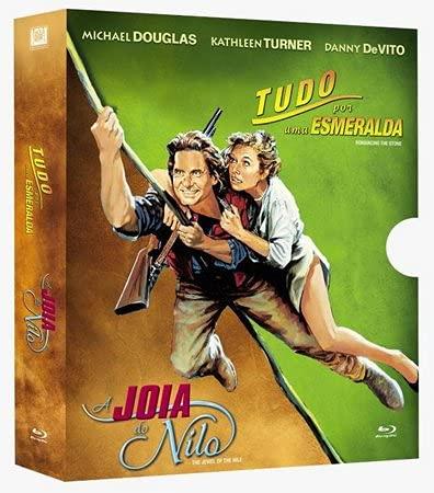 Tudo Por Uma Esmeralda + A Joia do Nilo Blu-ray Box com Luva