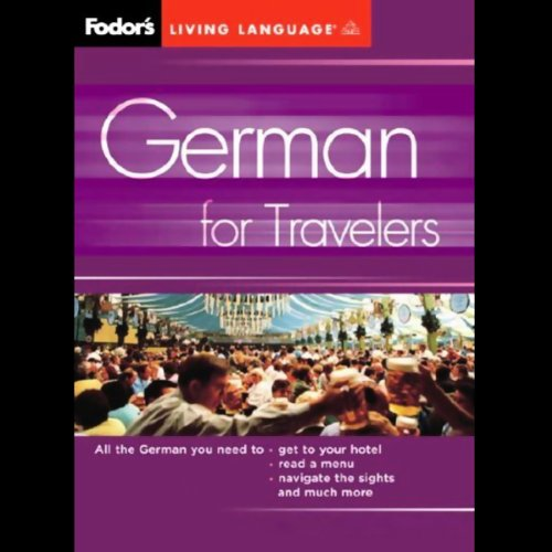 Fodor's German for Travelers cover art