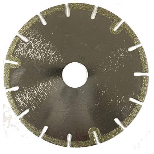 2-Pack 5' Electroplated U Slot Tile Diamond Blade for Cutting Marble, Lime Stone, Ceramic Tile, Porcelain Tile