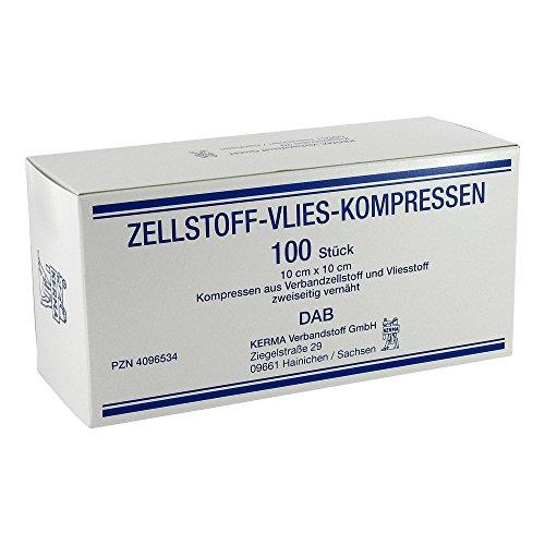 Zellstoff Vlies Kompressen 10x10 cm Unsteril
