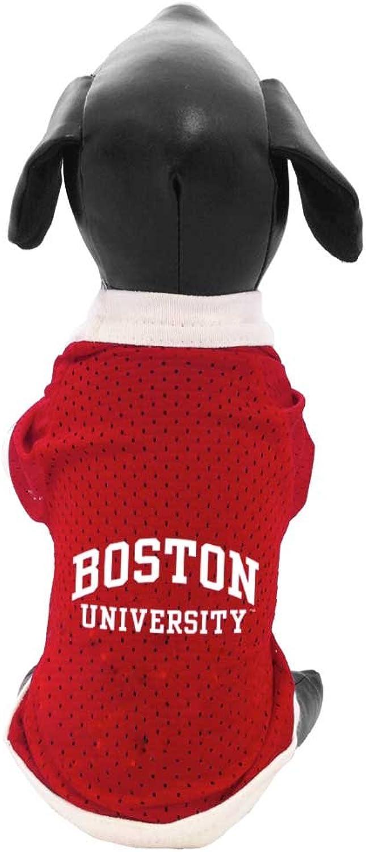 NCAA Boston University Terriers Athletic Mesh Dog Jersey